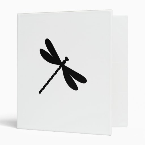 Dragonfly insect animal nature fly 3 ring binder