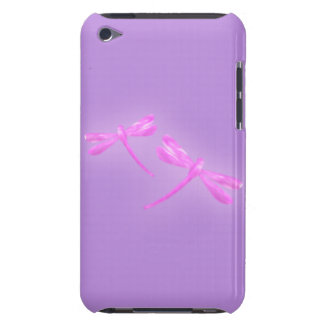 Dragonfly iPod Touch Case - Pink and Purple