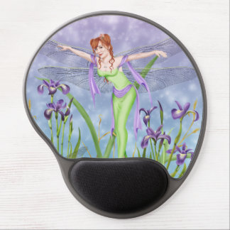 Dragonfly Iris Fairy - The Dancer - Mousepad Gel Mouse Pad
