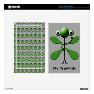 Dragonfly Kindle Skin