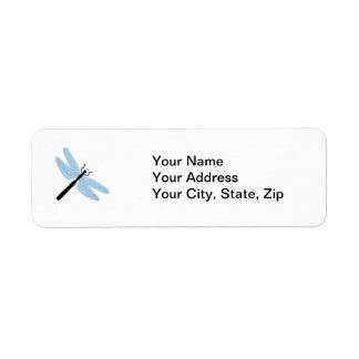 Dragonfly Return Address Label