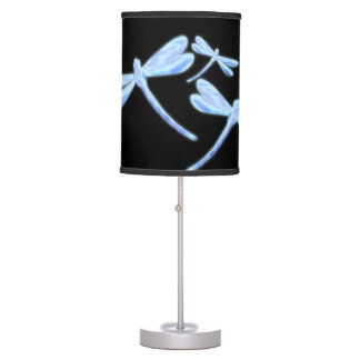 Dragonfly Lamp - Ice Glow