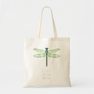 Dragonfly Live in the Moment Tote Bag