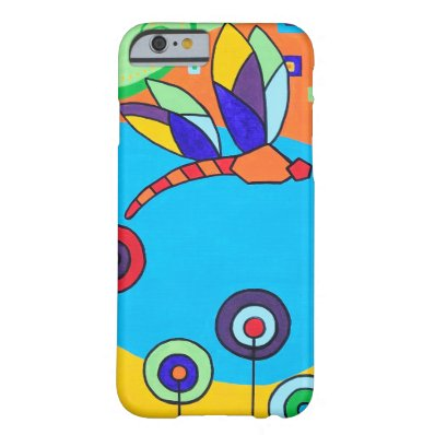 Dragonfly Lolipop Colorful Painting Barely There iPhone 6 Case