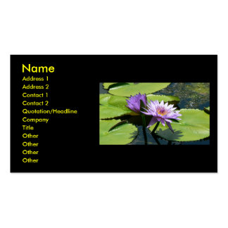 Dragonfly Lotus Business Cards
