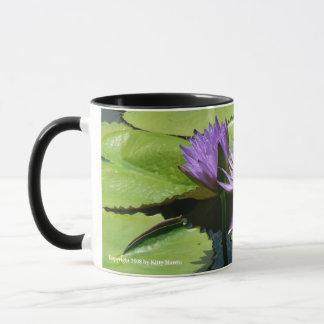 Dragonfly Lotus Mug