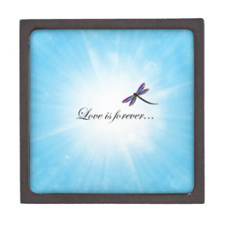 "Dragonfly  ""LOVE is Forever"" Gift Box"
