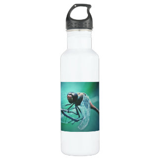Dragonfly macro photography insect bug shoot stainless steel water bottle