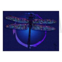 Dragonfly Magic Greeting Card