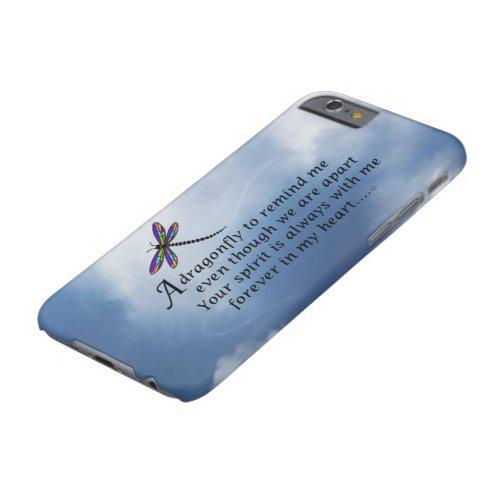 Dragonfly Memorial Poem Phone Case