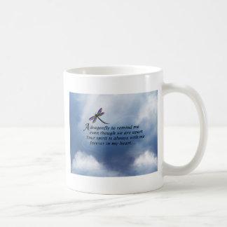 Dragonfly  Memorial Poem Coffee Mug