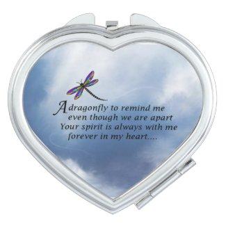 Dragonfly Memorial Poem Vanity Mirrors