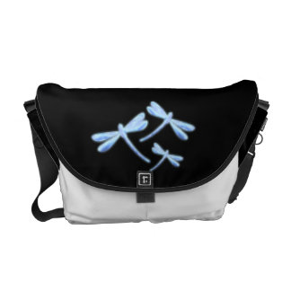 Dragonfly Messenger Bag - Ice Glows