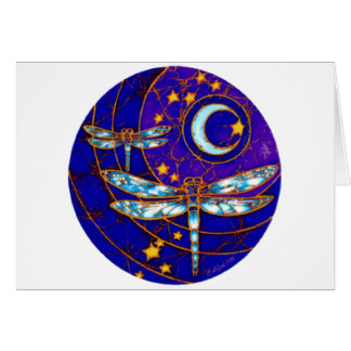 dragonfly moon card