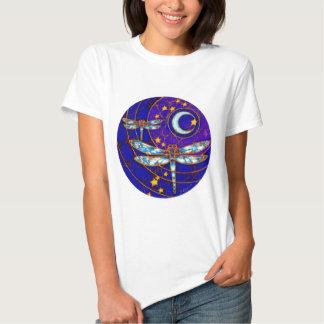 dragonfly moon t shirt