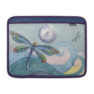Dragonfly Moon Watercolor Macbook Cover Sleeves For MacBook Air