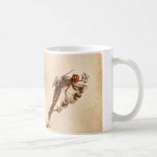 Dragonfly Classic White Coffee Mug