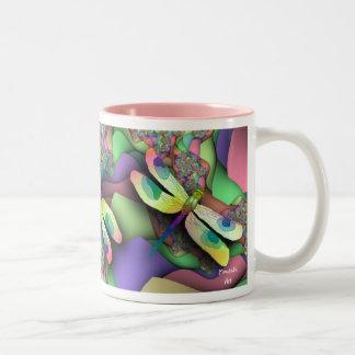 Dragonfly Mug (Pastels)