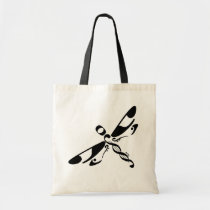 """Dragonfly ~ """"Musical"""" Tote Bag"""