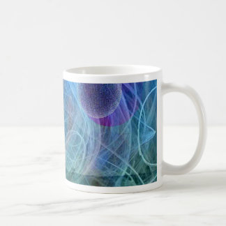 Dragonfly nature in motion coffee mug
