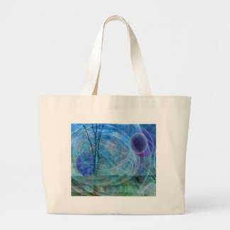 Dragonfly nature in motion large tote bag