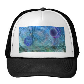 Dragonfly nature in motion trucker hat