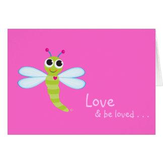 Dragonfly Notecard Card