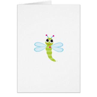 Dragonfly Notecard Greeting Card