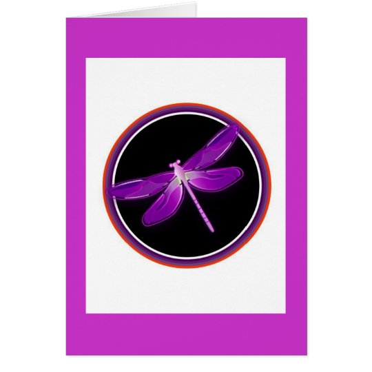 dragonfly notecards card