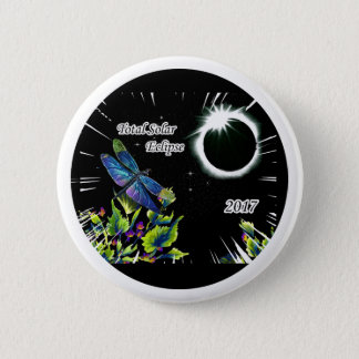 Dragonfly Observing the Total Solar Eclipse 2017 Button
