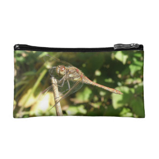 Dragonfly on a Twig Cosmetic Bag