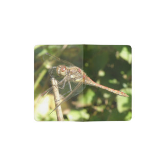 Dragonfly on a Twig Notebook Cover