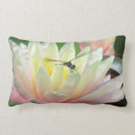 Dragonfly on a waterlily pillow