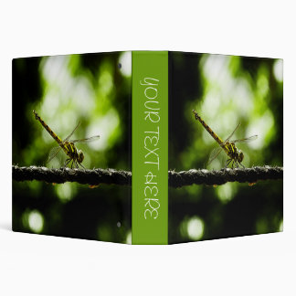 Dragonfly on green - Binders