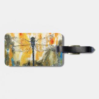 Dragonfly on my Window Luggage Tag