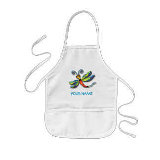 Dragonfly Paint Smock! Kids' Apron