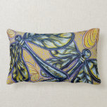 Dragonfly Pair Cotton Pillow