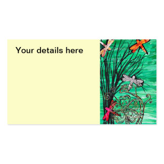 Dragonfly Park Double-Sided Standard Business Cards (Pack Of 100)