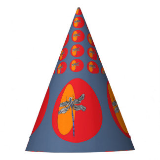dragonfly party hat