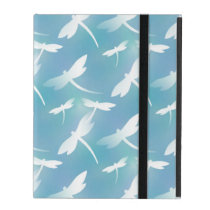 Dragonfly pattern iPad covers