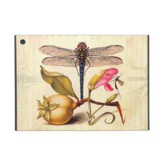 Dragonfly, Pear, Carnation, and Insect Cover For iPad Mini