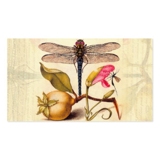 Dragonfly, Pear, Carnation, and Insect Double-Sided Standard Business Cards (Pack Of 100)