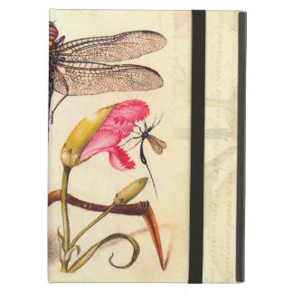 Dragonfly, Pear, Carnation, and Insect iPad Air Cover