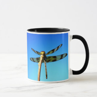 Dragonfly Perched Mug