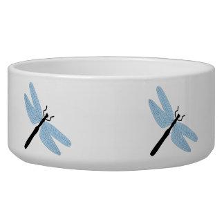 Dragonfly Dog Bowls