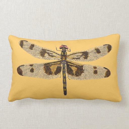Different Throw Pillow Designs : Dragonfly Pillow 2 different Dragonflies