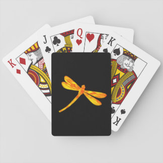 Dragonfly Playing Cards - Fire