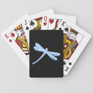 Dragonfly Playing Cards - Ice Glow