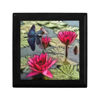 Dragonfly Pond Jewelry Box