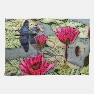 Dragonfly Pond Kitchen Towel